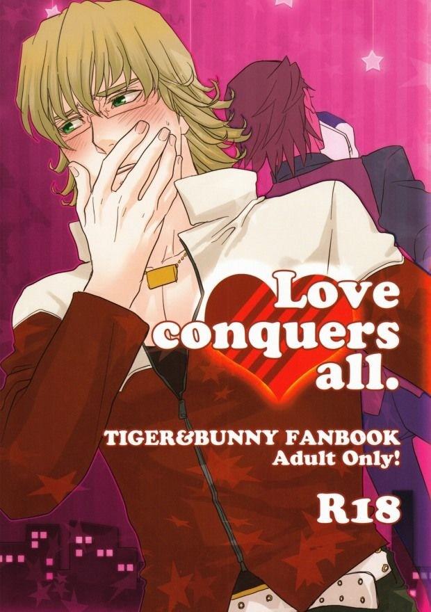 【BLエロ同人誌】虎徹×バーナビー★Love conquers all①【TIGER&BUNNY(タイバニ)】