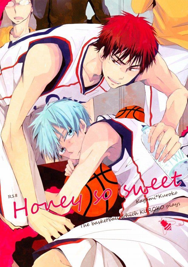 【BLエロ同人誌】火神×黒子「Honey So Sweet」【黒子のバスケ】