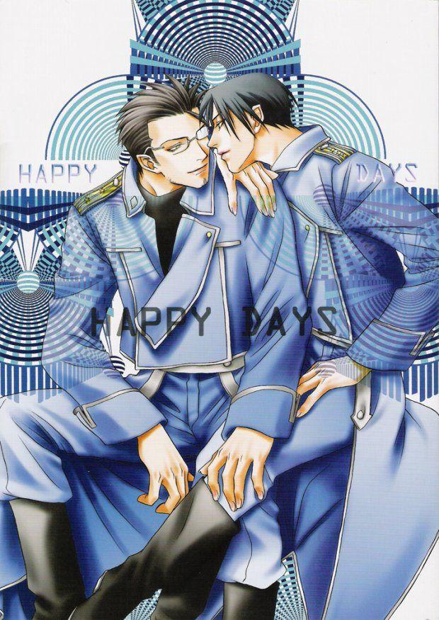 【BLエロ同人誌】HAPPY DAYS(ヒュロイ→ハボロイ)【鋼の錬金術師】