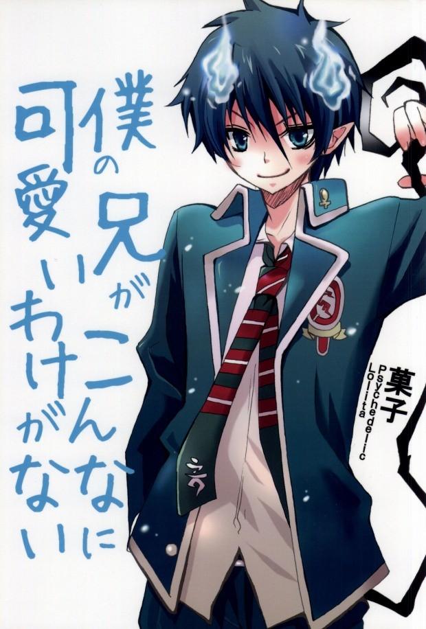 【BLエロ同人誌】雪男×燐☆僕の兄がこんなに可愛いわけがない【青の祓魔師】