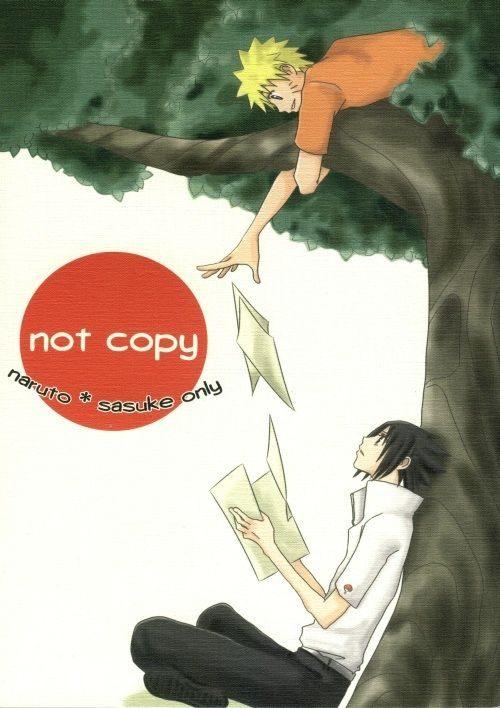 【BLエロ同人誌】サスケ×ナルト「not copy」【NARUTO(ナルト)】