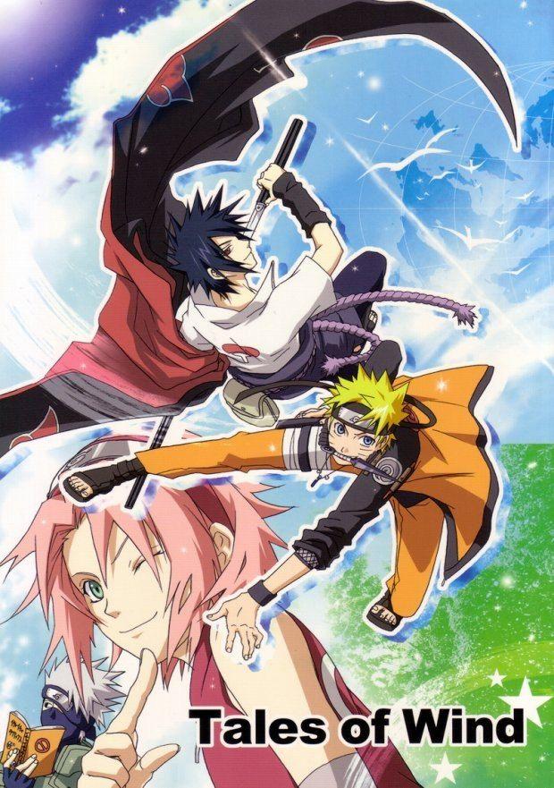 【BLエロ同人誌】サスケ×NARUTO「Tales of Wind」【NARUTO(ナルト)】