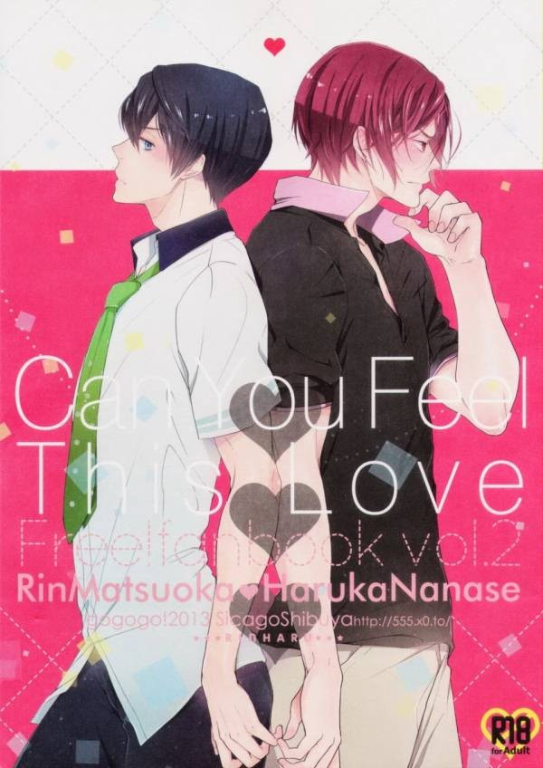 【BLエロ同人誌】凛×遙☆Can you Feel This Love【Free!】