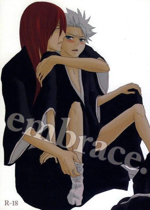 【BLエロ同人誌】恋次×日番谷「embrace.」【BLEACH(ブリーチ)】