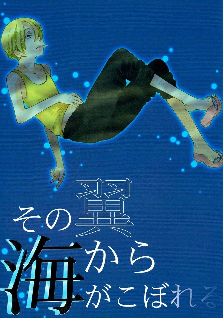 【BLエロ同人誌】ルフィ×サンジ☆その翼から海がこぼれる【ONE PIECE(ワンピース)】