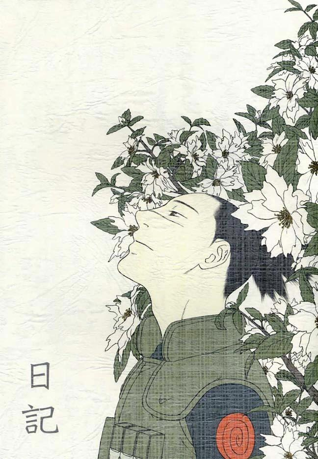 【BLエロ同人誌】カカシ先生×イルカ先生「日記」【NARUTO-ナルト-】