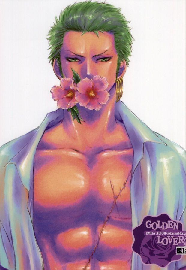 【ジャンプBL同人誌】ミホーク×ゾロ☆GOLDEN LOVER2【ONE PIECE(ワンピース)】