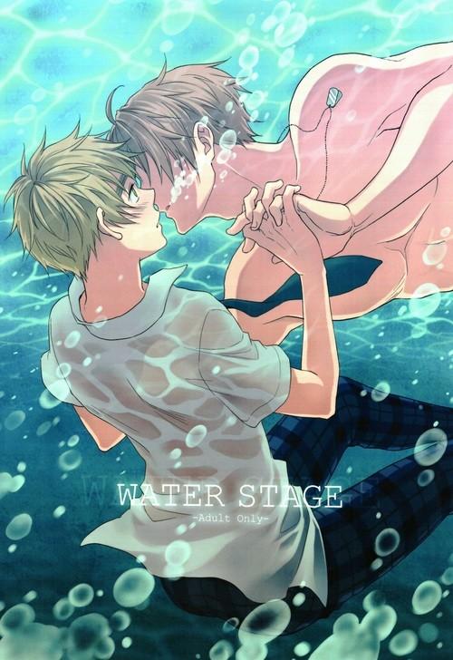 【ヘタリアBL同人誌】アルフレッド×アーサー☆WATER STAGE【ボーイズラブ漫画】