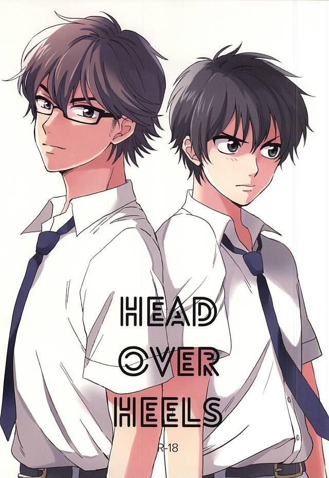 【ダイヤのAボーイズラブ漫画】御幸×沢村「HEAD OVER HEELS」※18禁【BLエロ同人誌】