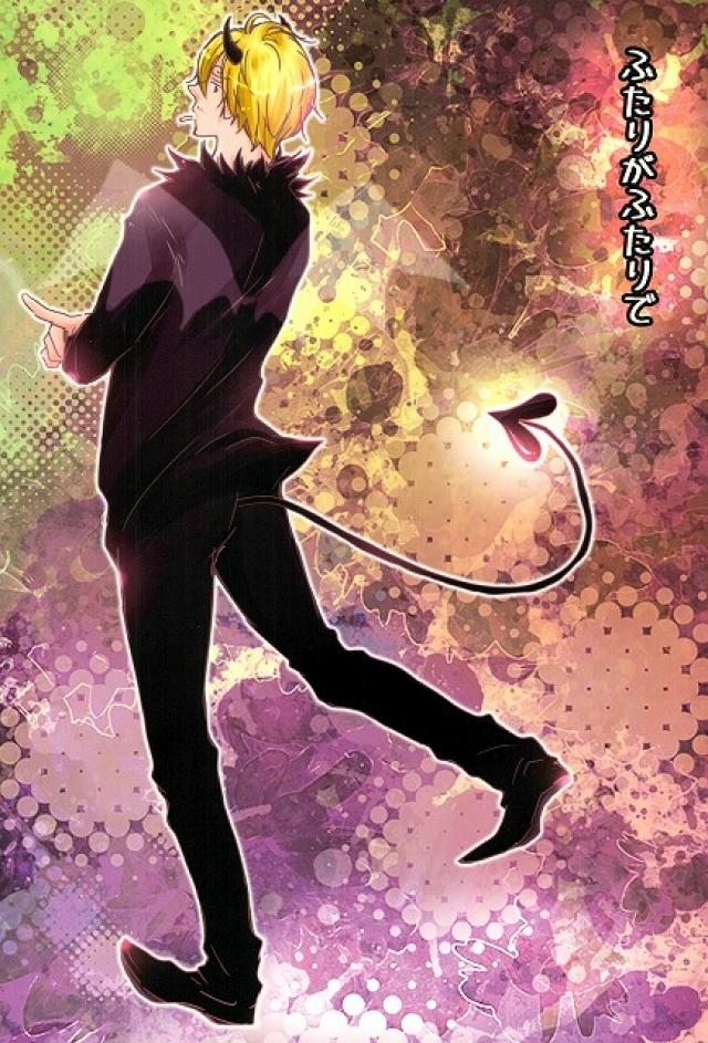 【ワンピースBL漫画】ゾロ×サンジ「ふたりがふたりで」※悪魔パロ【ボーイズラブ漫画】