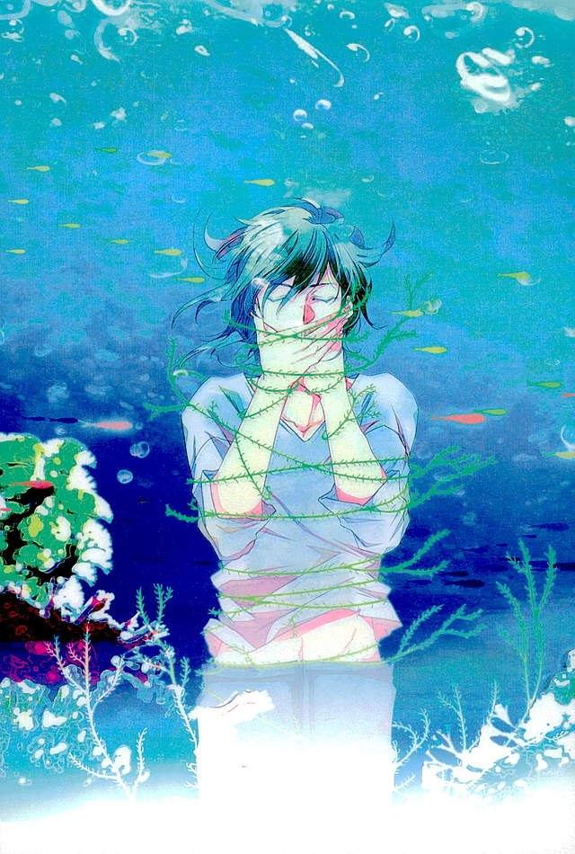 【うたプリBLエロ同人誌】美風藍×七海春歌「Lost Mermaidia.」※ボーイズラブ漫画【うたの☆プリンスさまっ♪】