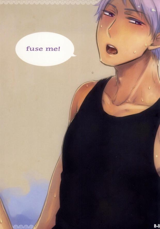 【ヘタリアBLエロ同人誌】プロイセン×ドイツ「fuse me!」※腐女子向け【ボーイズラブ漫画】