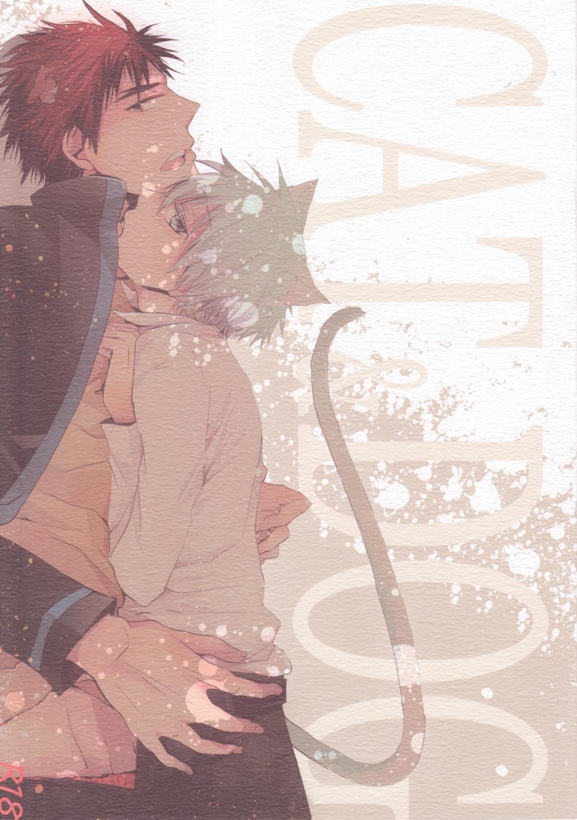 【黒バスBLエロ同人誌】火神×黒子「CAT&DOG」※ボーイズラブ漫画【黒子のバスケ】