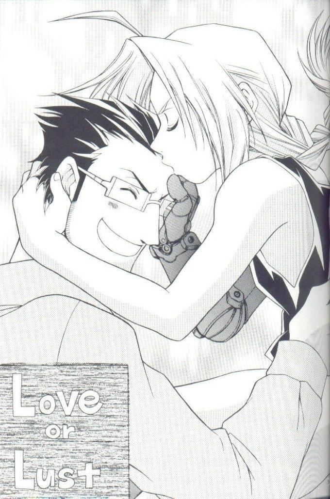 【ハガレンBLエロ同人誌】ヒューズ×エド「Love or Lust」※ボーイズラブ漫画【鋼の錬金術師】