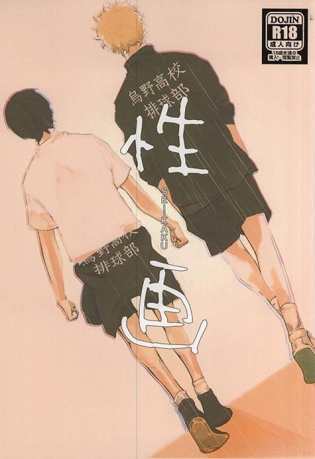 【HQボーイズラブ漫画】月島蛍×影山飛雄「性画」※BLエロ同人誌【ハイキュー!!】