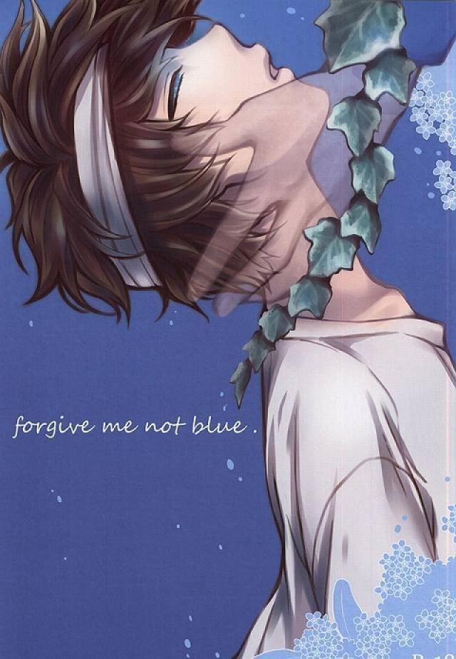 【血界戦線BLエロ同人誌】スティーブン×レオナルド「forgive me not blue」※腐女子向け【ボーイズラブ漫画】