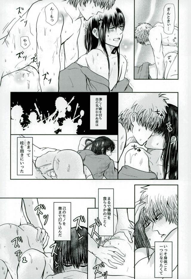 【BL同人誌】自分の都合で桂を抱いていた銀時だったが、ある日桂の方から誘いがあって…♡【銀魂】 008