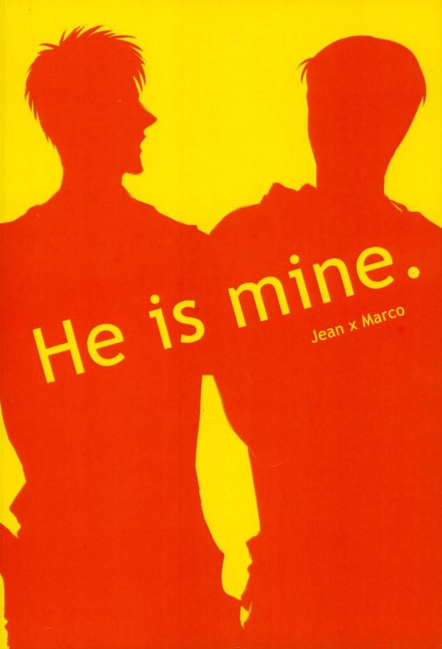 【進撃の巨人 BL同人誌】ジャンの激しい束縛を目の当たりにしたアルミンは、マルコのことがちょっと心配・・・のはずが翌日マルコの手首に縛った跡が・・・ 017