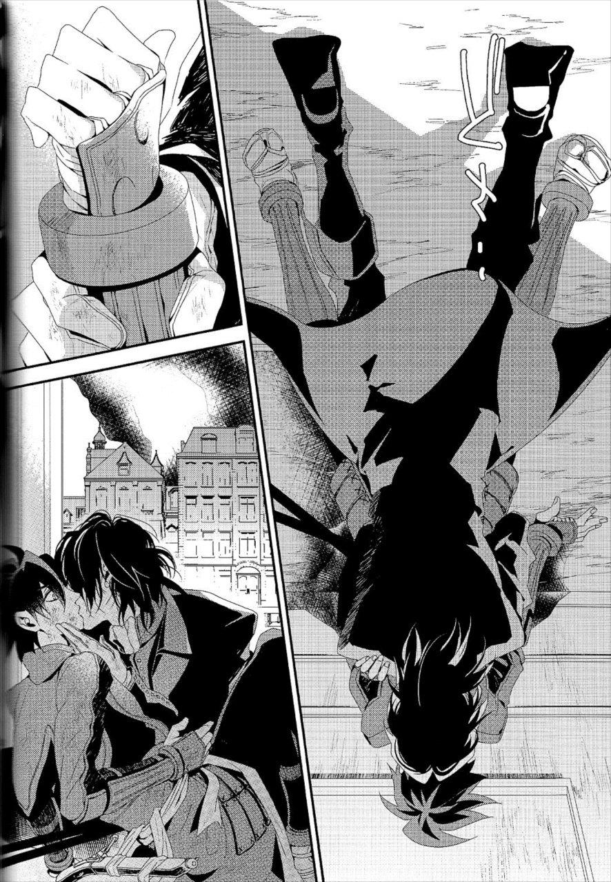 【エロ同人誌 ドリフターズ】殺したかったはずなのに島津豊久にキスをしてしまう土方歳三。それから会いたくて仕方なくて…【無料 エロ漫画】 009