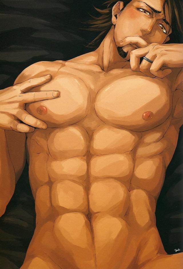 【エロ同人誌 タイバニ】バーナビーに乳首を弄られてムズムズする虎徹wwwだんだん乳首で感じ始めちゃって自分でも弄りだす始末ww【OJmomo エロ漫画】 001