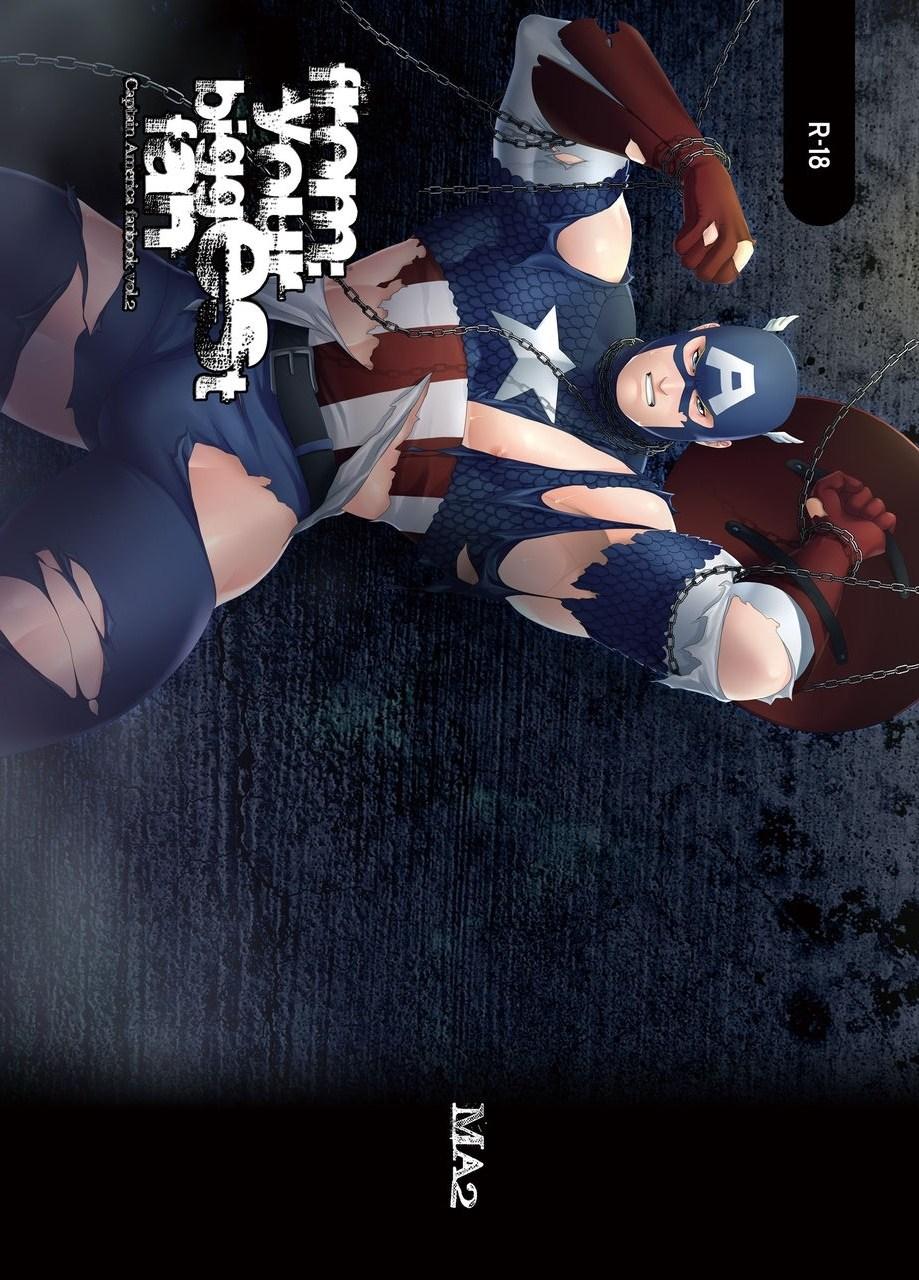 【エロ同人誌 アベンジャーズ】スティーブが後ろから殴られ気絶。目が覚めると拘束されてて…【無料 エロ漫画】 001
