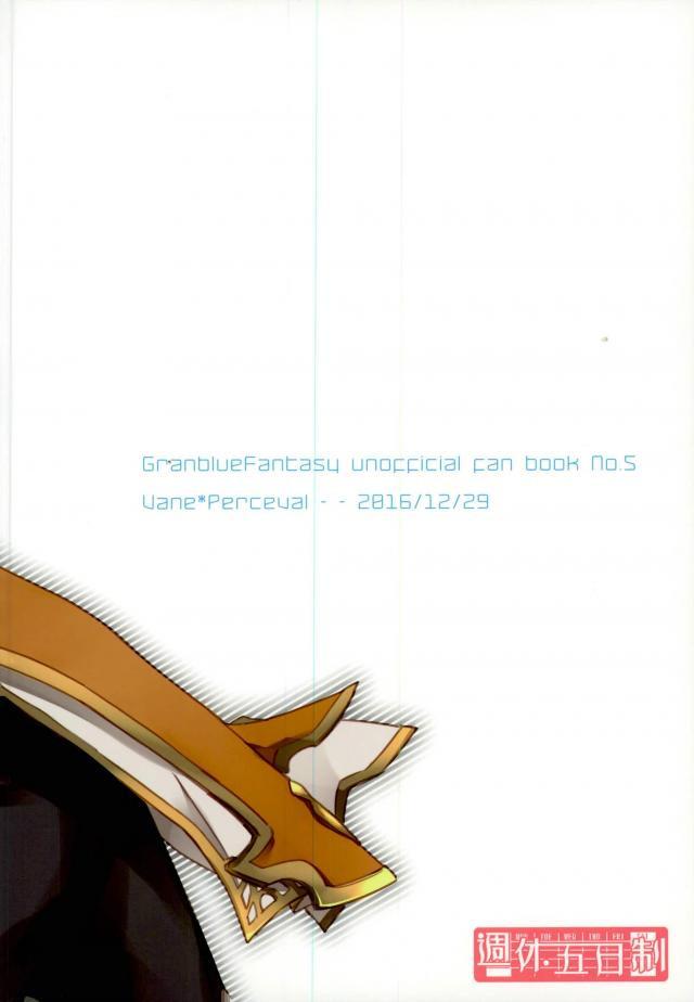 【エロ同人誌 グラブル】一回出しとかないと余裕無い位溜まってるヴェインとパーシヴァルがラブラブセックスしまくりw【無料 エロ漫画】 027